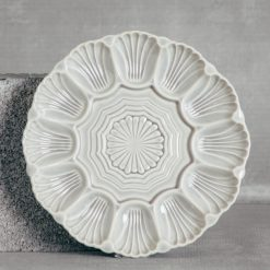 Relish Decor Costa Nova Cristal Grey Appetizer Dish