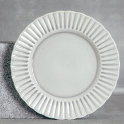 Relish Decor Costa Nova Cristal Grey Dinner Plate Set