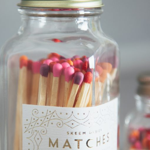 Relish Decor Skeem Match Bottle Pink Orange