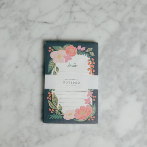 Relish Decor Rifle Paper Co Rosalie Notepad