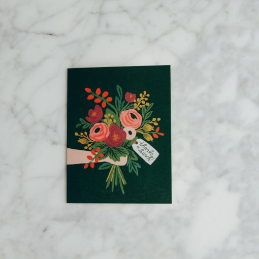 Relish Decor Thank You Card Rifle Paper Co Thanks a Bunch