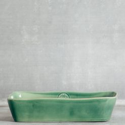 Relish Decor Casafina Forum Rectangular Baker Green