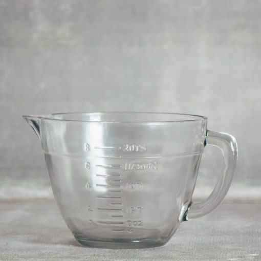 Relish Decor Pressed Glass Batter Bowl