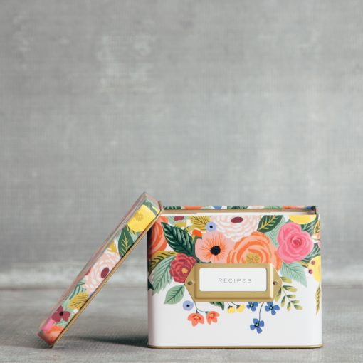 Relish Decor Rifle Paper Co Recipe Box Juliet Rose
