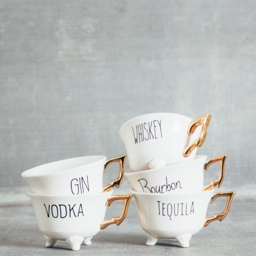 Relish Decor Boozy Tea Cup
