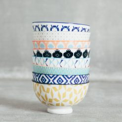 Relish Decor Coupe Stamped Bowls