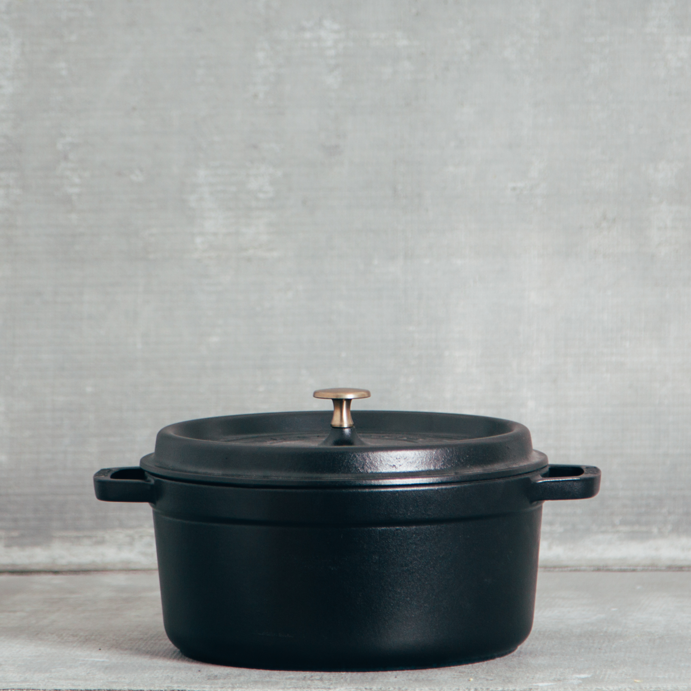 Staub Matte Black Cookware Collection Relish Decor