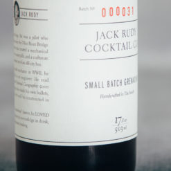 Jack rudy relish decor elderflower tonic detail small batch grenadine detail