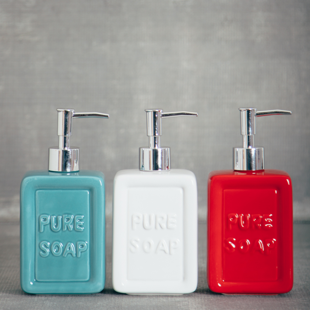 essential ceramic soap dispenser relish decor
