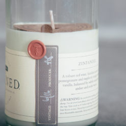 Rewined candle relish decor blanc zinfandel detail