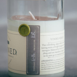 rewined candle relish decor vinho verde detail