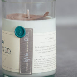 rewined candle blanc relish decor viognier detail