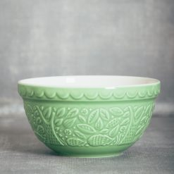 Mason Cash In the Forest green hedgehog mixing bowl relish decor collection