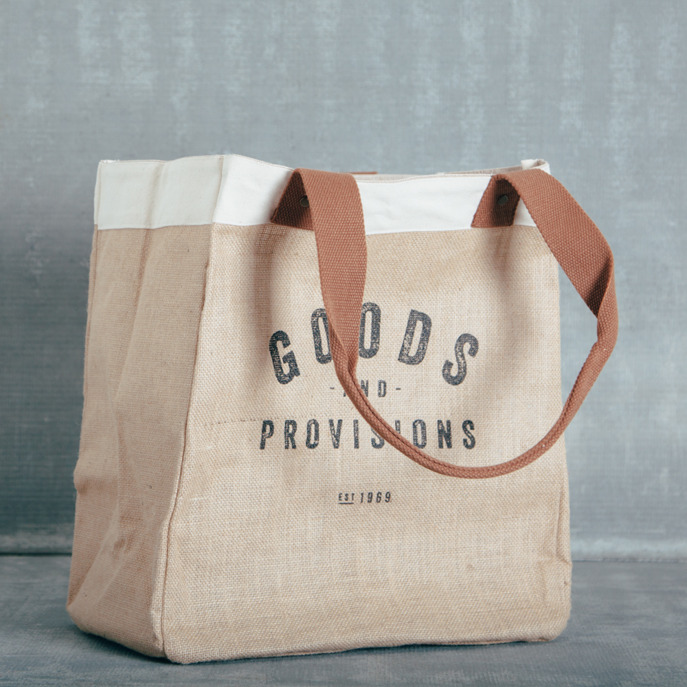 goods and provisions relish decor tote bag