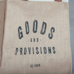goods and provisions relish decor tote bag detail