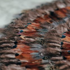 pheasant park place mat relish decor detail