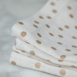 soiree placemats napkins gold dot set of four relish decor detail