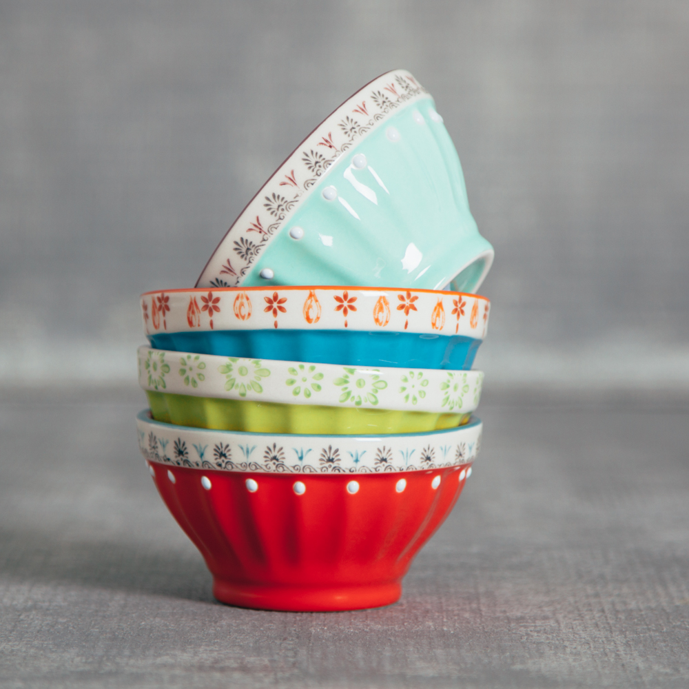 Lillie Painted Nut Bowl Relish Decor