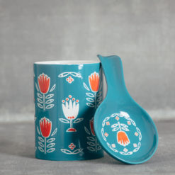 tulipa collection spoon canister relish decor