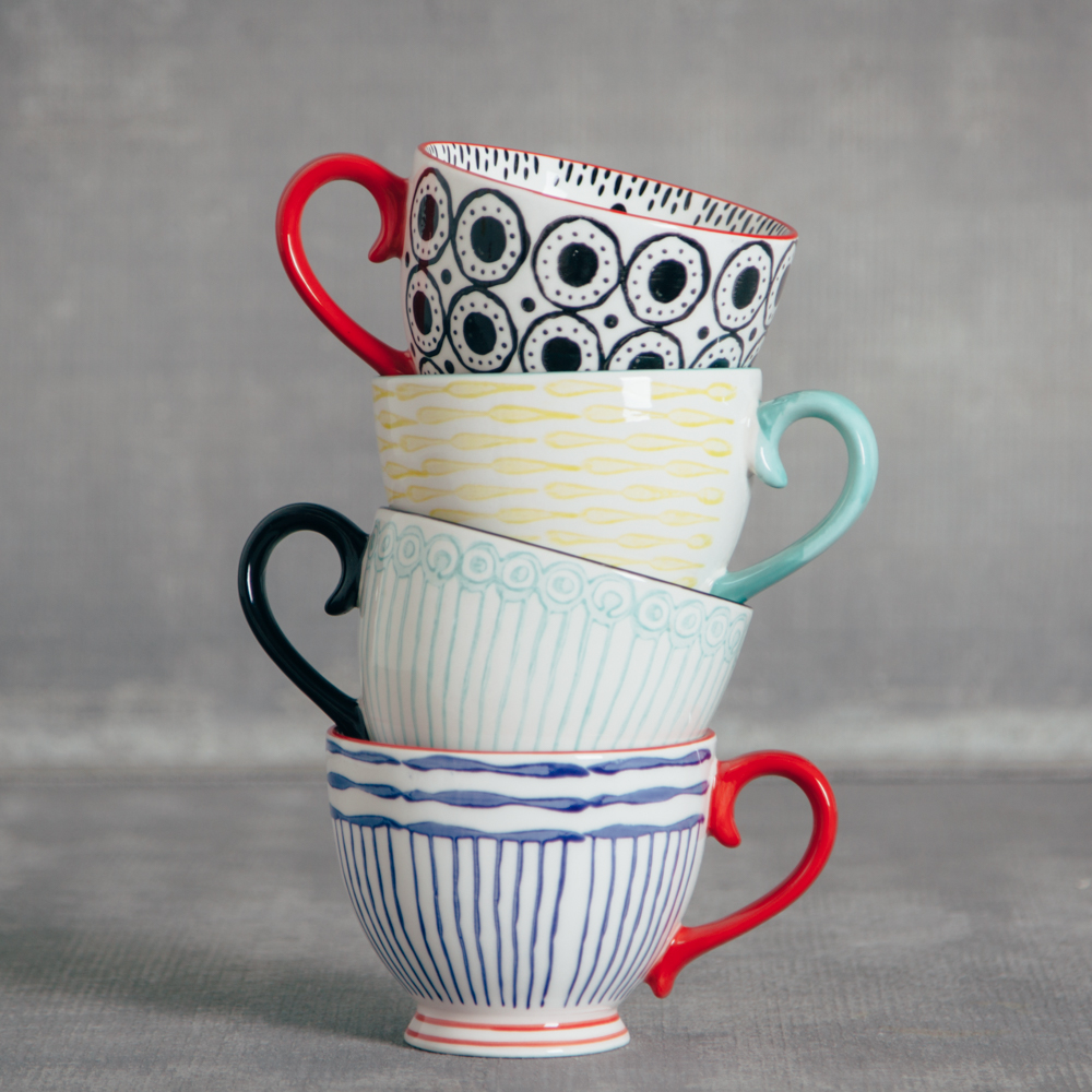 fiesta coffee mug relish decor