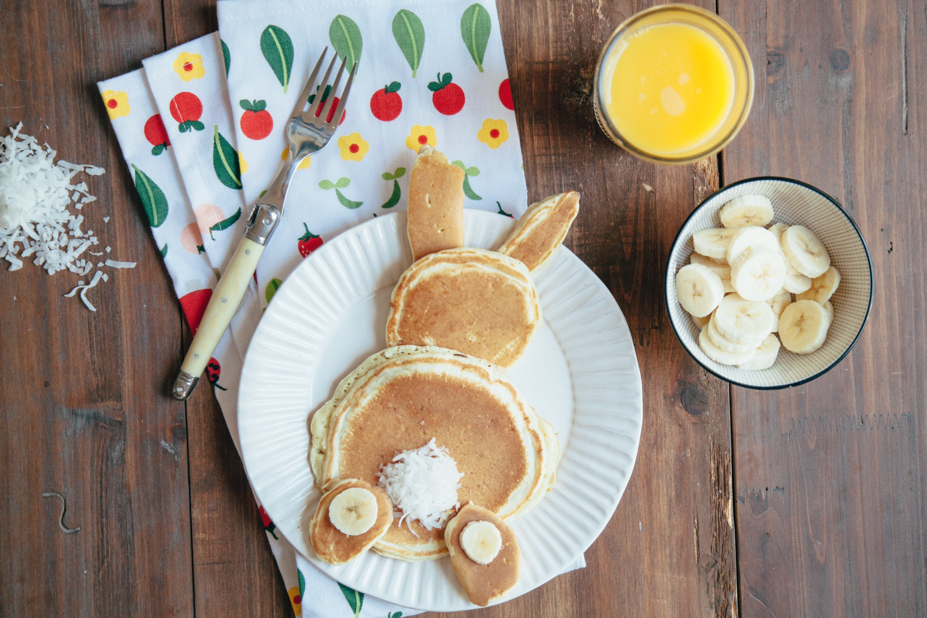 Relish Recipe: Hoppy Bunny Pancakes