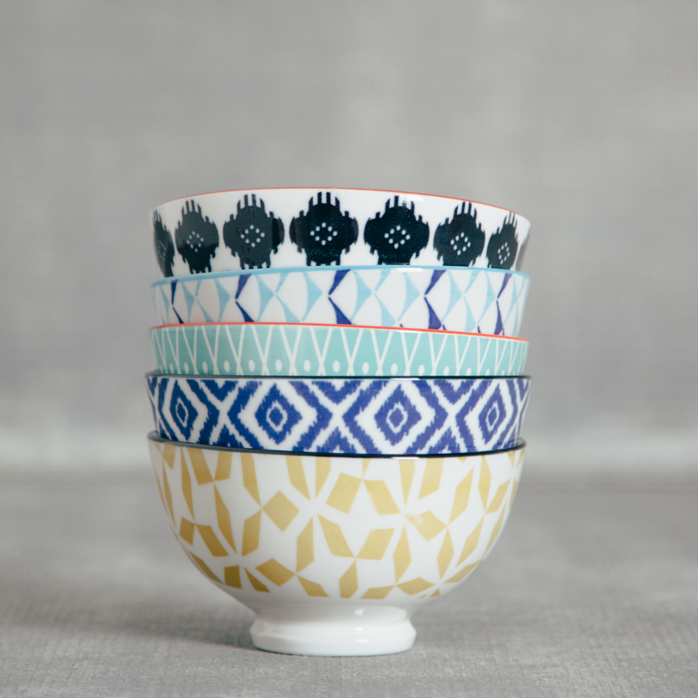 akita small pattern bowl relish decor