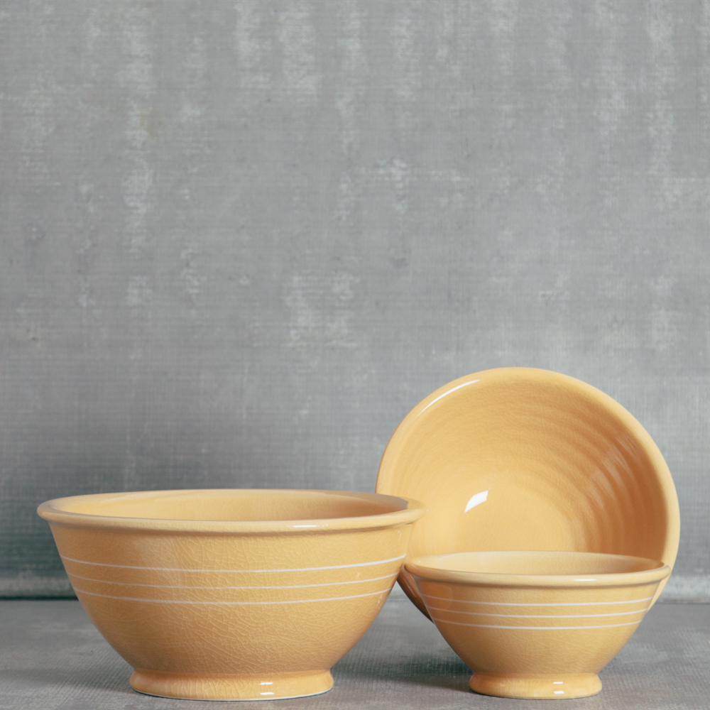 Goldenrod Mixing Bowls mustard relish decor
