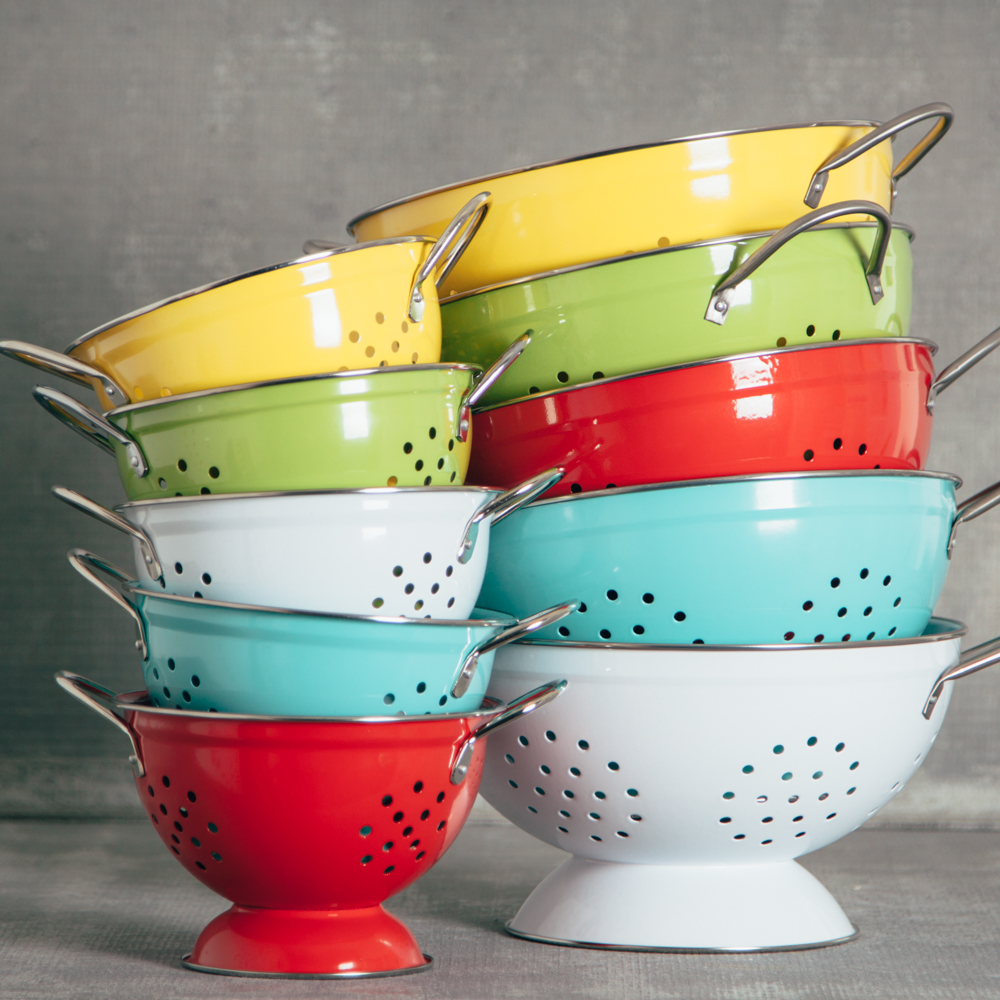 Pamela bright colander small relish decor collection