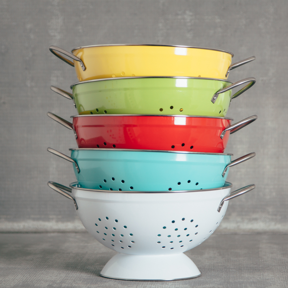 Pamela bright colander large relish decor