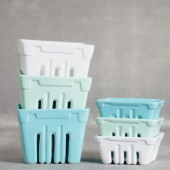 valley ceramic berry basket crates relish decor collection
