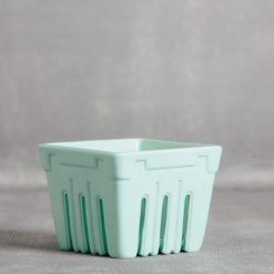 valley ceramic berry basket crates relish decor mint