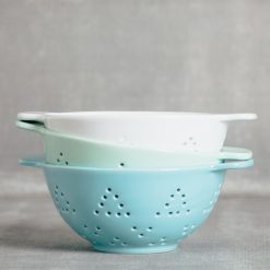 valley ceramic colander berry strainer relish decor