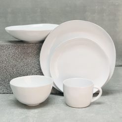 Livia White Placesetting 5pc