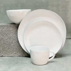 Livia White Placesetting 4pc