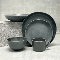 Livia Black Placesetting 5pc