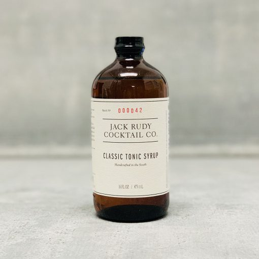 Jack Rudy Classic Tonic Syrup