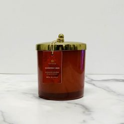 Thymes-Simmered-Cider-Red-Candle-Gold-Lid-Relish-Decor