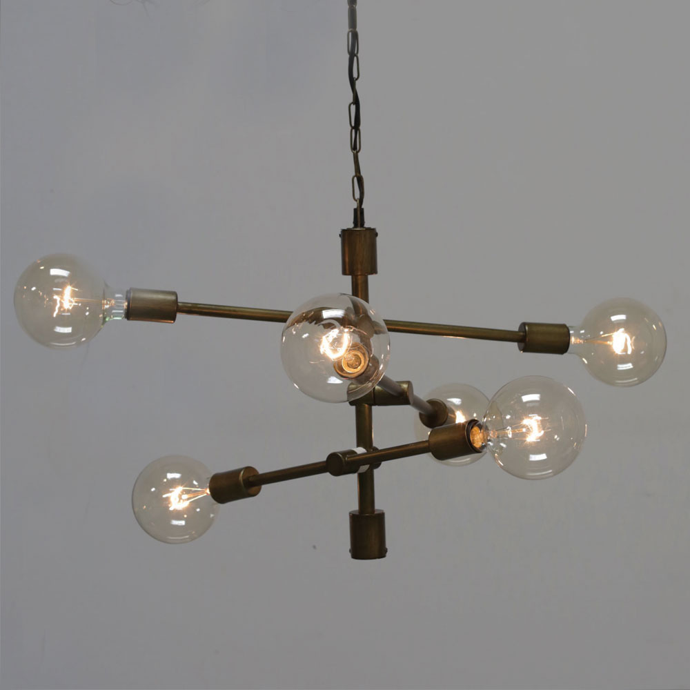 Industrial Pendant Chandelier Edison Bulb Relish Decor