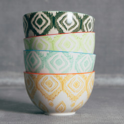 Jaya Ikat Bowls Relish Decor