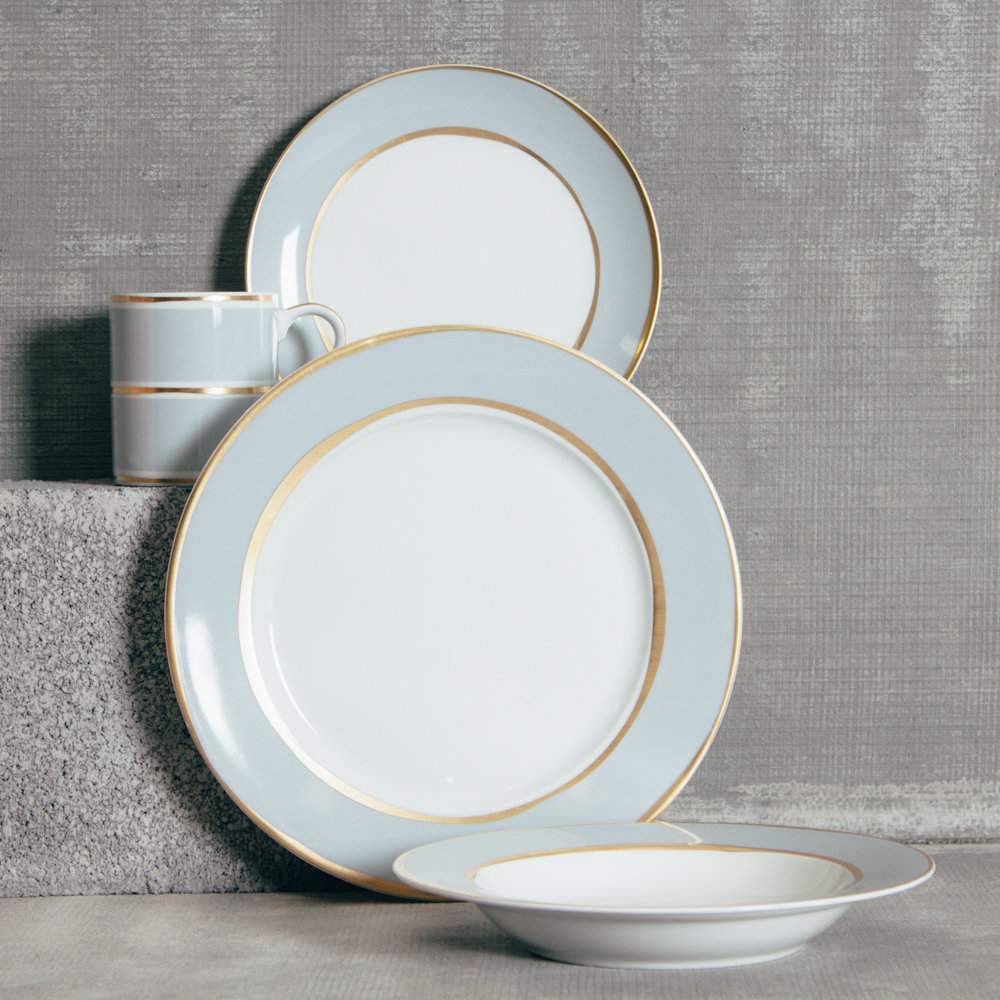 La Vienne Blue Dinnerware Sets Blue Set Relish Decor & La Vienne Blue Dinnerware Sets - Relish Decor