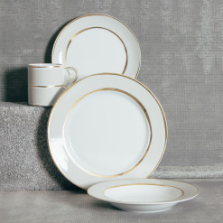 La Vienne Grey Dinnerware Sets Relish Decor
