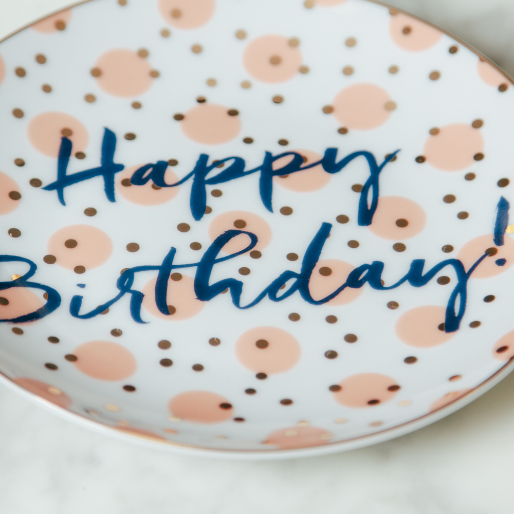 Let S Party Happy Birthday Plate Set Relish Decor