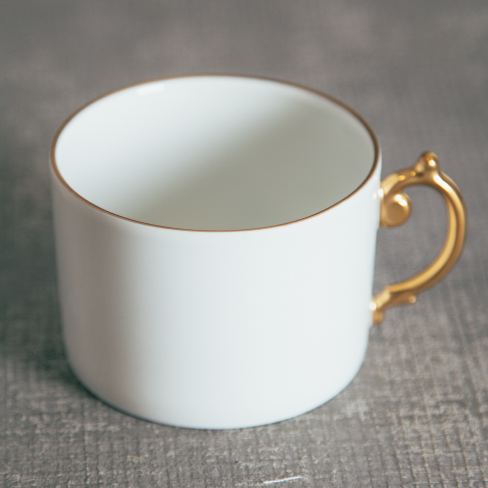 Lobjet Aegean Filet Gold Coffee Mug Relish Decor