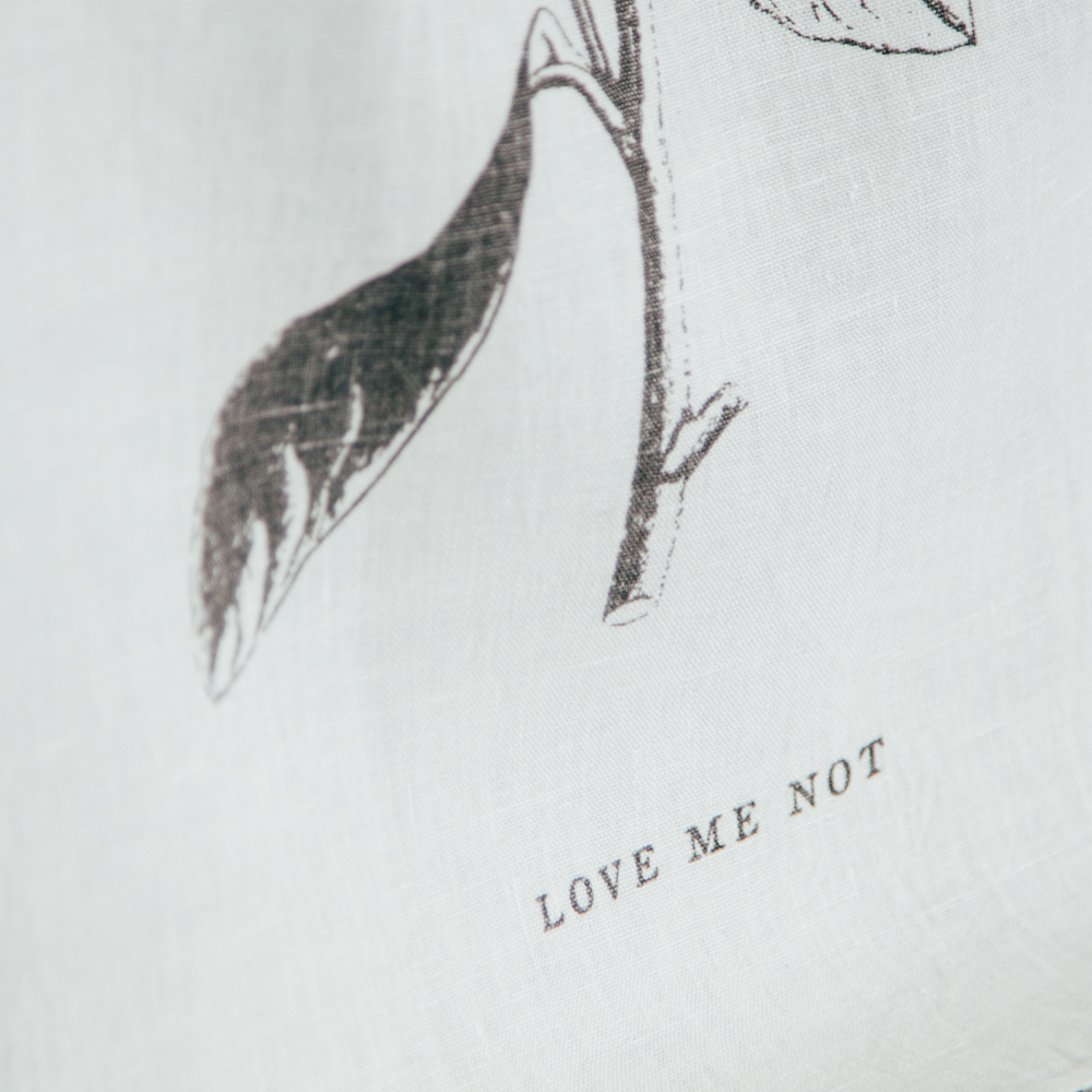 Love Me Love Me Not Pure Linen Towel by Sir Madam for Relish Decor