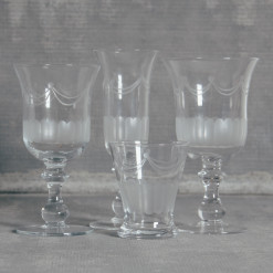 Lydia Classic Glassware Collection Relish Decor