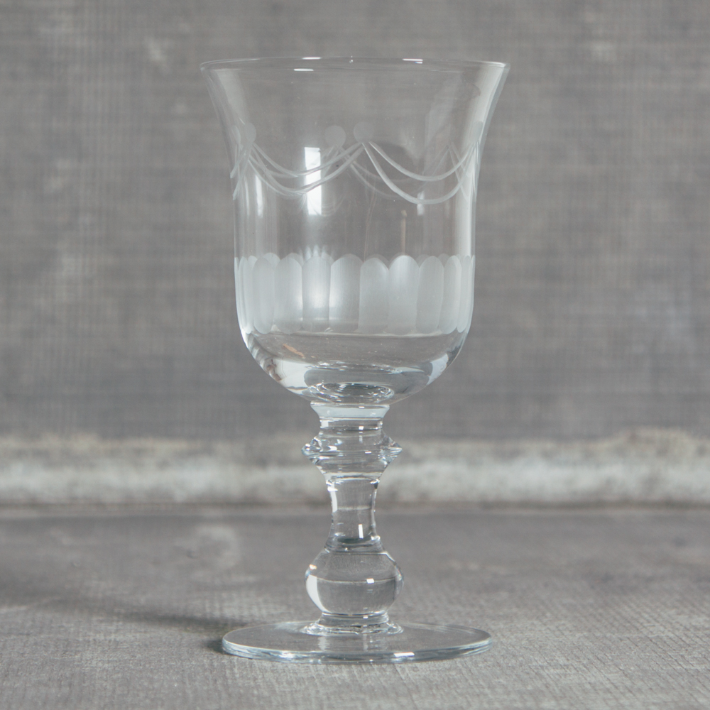 Lydia Classic Glassware Water Glass Relish Decor