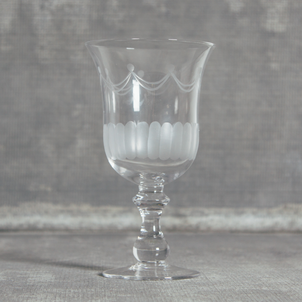 Lydia Classic Glassware Wine Glass Relish Decor