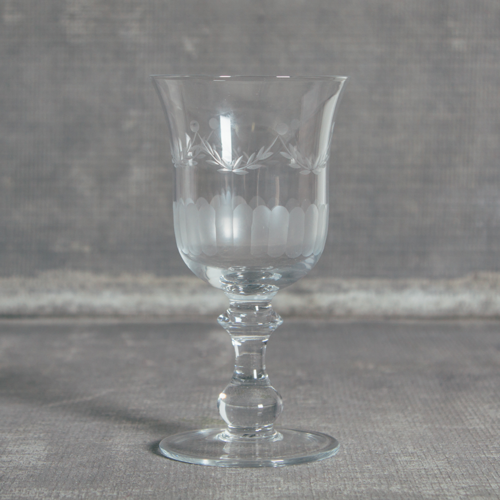 Lydia Garland Glassware Collection WIne Glass Relish Decor