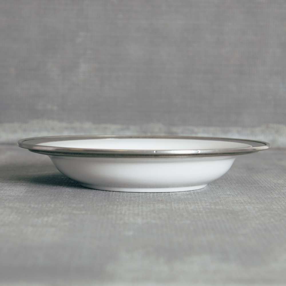 Match Pewter Convivo Rimmed Pasta Bowl
