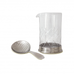 Match-Pewter-Mixing-Glass-Cocktail-Strainer-Relish-Decor